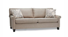 Sofas for healthcare - Retirement home furniture.  Espresso finish standard. Also available in Light & Unfinished.