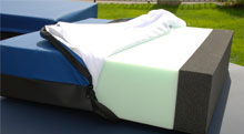 Mattresses for healthcare - A premium high quality ultracell foam mattress offering long term support and 